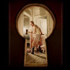 Joshua Hoffine - Keyhole, 2010 Photography