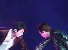 Jungkook and RM x 'FAKE LOVE performance' #BBMAs #Namkook #BTS