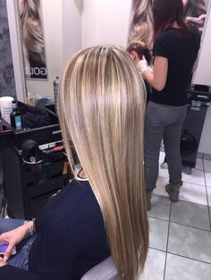 Melange, wykonanie: Monika. www.fryzjer.lublin.pl #hair #hairstyle #dyed #melange #blonde #long #Lublin #fryzjer #włosy #fryzury
