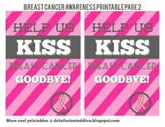 Kiss Breast Cancer GoodBye