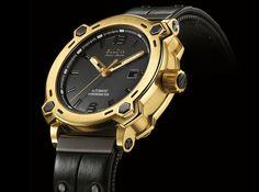 La compañía con sede en Nueva York, Bulova, presentó un reloj con una caja hecha de oro puro de 24 quilates (999.9%), como una edición especial del reloj, Bulova Accu•Swiss. El ultra-exclusivo relo...
