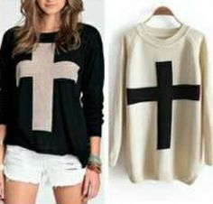 e81c027a77 Cross Sweater (More Colors) from Simpelle on Storenvy