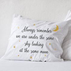 Larga distancia relación almohada novio amor regalo amistad