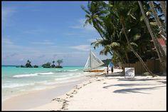 Boracay Beach in Panay Philippines Philippines Travel Guide, Boracay Philippines, Philippines Beaches, Mahal Kita, Philippine Holidays, Boracay Island, Travel And Tourism, Travel Info, Travel Uk