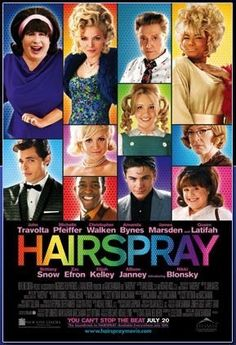 Hairspray -- It's 1962, and change is in the air in Baltimore. Tracy Turnblad, big girl with big hair and an even bigger heart, has only one passion--to dance!