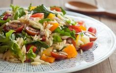 Whole Wheat Orzo Salad with Kale, Chickpeas, Lemon, and Feta | Orzo ...