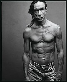 Iggy Pop, only trousers