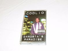Gangsta's Paradise by Coolio cassette tape Tommy boy TBC 1141 Parental Advisory  #WestCoast