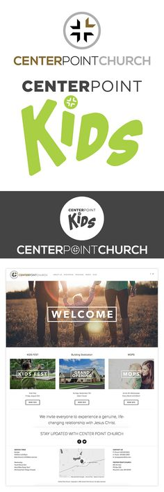 Branding & Website for CenterPoint Church // Check us out at 320creative.org