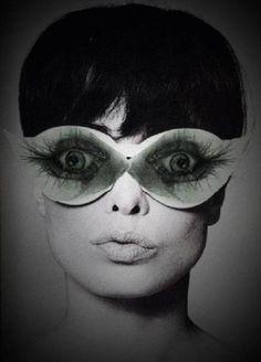 Eyelash eyewear - yup, these will work for today
