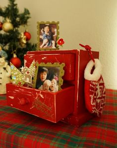 Christmas Chest and Drawer