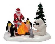 Lemax Fireside Fun, Battery-Operated (4