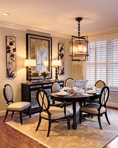 small dining area via Rodideal Interiors