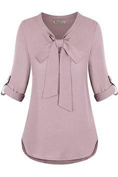 Women Bow Tie, Fishnet Top, Indian Clothes Online, Chiffon Tops, Chiffon Fabric, Chiffon Shirt, Blouse Designs, Blouses For Women, Models