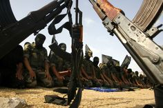 Members of the Islamic Jihad pray in the Gaza Strip Gaza Strip, 28th October, Latest Stories, Pictures Of The Week, 25th Anniversary, Rally, Islamic, Fighter Jets, Prayer