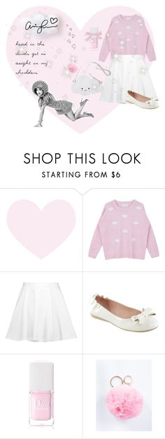 """""""head in the clouds - agb ♡"""" by fiftiesprincess ❤ liked on Polyvore featuring beauty, Alice + Olivia, Pinup Couture, Christian Dior, Brinley Co, modern and vintage"""