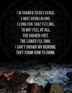 Writing inspiration #character #bring me the horizon song lyrics : can you feel my heart