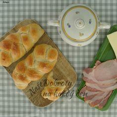 Domácí housky - Naše Dobroty na každý den Thing 1, Dumplings, Pineapple, Bread, Fruit, Ethnic Recipes, Food, Pine Apple, Brot
