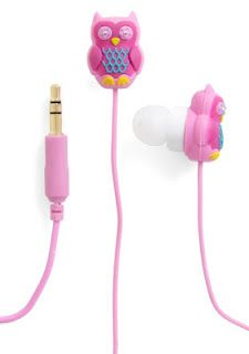Owl Ear bud head phones