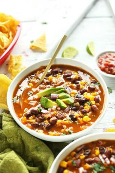 Chipotle Black Bean Tortilla Soup: Can healthy just always look like this, please?
