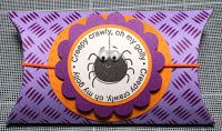 """Halloween 2015 - Kaiser Stamps """"Checker Plate"""", Stampin Up """"Batty for You"""""""