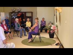 """Songs : Yoga Music """"Can't Stop the Feeling"""" in my Body Chair Yoga Dance with Sherry Zak Morris Fitness & Diets : Move it Or Lose It source for fitness Motivation & News Yoga Music, Yoga Dance, Senior Activities, Physical Activities, Senior Fitness, Yoga Fitness, Pilates, Cant Stop The Feeling, Class Routine"""