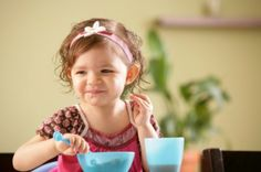 Food for thought: What your toddler eats today will affect his smarts for years to come.