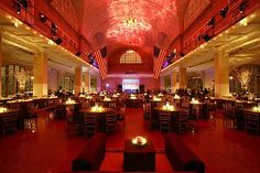 Ellis Island, such a special and unique private event space.  This history vibrates in the room.