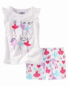 Toddler Girl PJs from OshKosh B'gosh. Shop clothing & accessories from a trusted name in kids, toddlers, and baby clothes. I Love Girls, Kids Girls, Little Girls, Boys, Oakley, Kids Pjs, Baby Girl Pajamas, Fashion Line, Toddler Girl Outfits