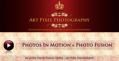 Wedding Photographer Mumbai - Photo Fusion Video by Amit Desai. http://www.artpixelphotography.com/photo-fusion-wedding-videography-mumbai/ #weddings #videos #photofusion