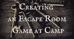 Escape Rooms (a.k.a. Puzzle Rooms, Adventure Rooms, Mystery Rooms, Exit Games) have surged in popularity recently. A few months again there was some discussion on a couple of the camp professional Facebook groups about running an Escape Room at camp. Is it possible to create an Escape Room at camp without spending thousands of dollars on …