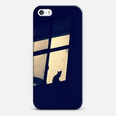 cat in the window iPhone 5s case by Marianna Tankelevich | Casetify