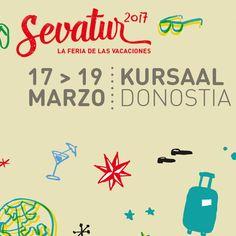 Sevatur organiza este año su 15ª edición en el Palacio de Congresos y Auditorio Kursaal  Si quieres asistir a la feria, toda la info, pinchando sobre la imagen.
