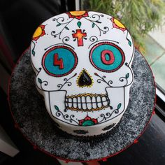 day of the dead | Day of the Dead Birthday Cake | Whipped Bakeshop