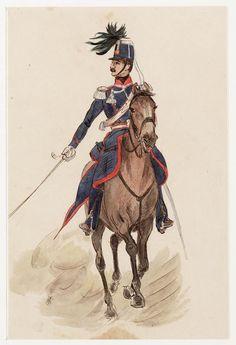 Officier van de Jagers te Paard