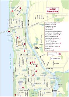 frommers map of harlem attractions