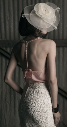 Captive by Garvin Lee | Ophelie Hats, Forever 21 top, RW & Co skirt ♥✤