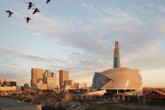 Canadian Museum for Human Rights designed by Antoine Predock architect