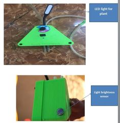 A smart device to watering your plant in the best way, indoor and outdoor  using solar energy ,indoor using 12V charger.when are away