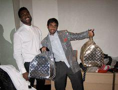 Kanye West and Aziz Ansari