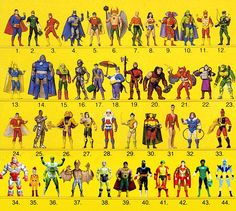 SUPER POWERS were in my top 5 toys of all time. Based on DC comics superheroes… Gi Joe, Secret Wars, Dc Comics Action Figures, Modern Toys, Dc Comics Superheroes, Childhood Toys, Childhood Memories, Classic Toys, Old Toys