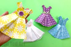 Easy Origami Dress for Beginners. Origami cocktail dress. How to make a paper dress. Origami style dress. How to make an origami dress card. Origami wedding dress instructions. How to make a paper dress for barbie. Origami dress dollar bill. How to make a paper dress for a doll. Origami clothes folding.