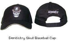 Baseball Cap Dentistry Skull, Dental