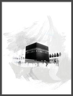 Islamic murals and posters, Kabe, Kaaba Mecca Wallpaper, Islamic Quotes Wallpaper, Islamic Images, Islamic Pictures, Mekka Islam, Eid Cards, Mekkah, Islamic Posters, Islamic Art Pattern