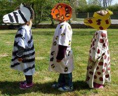 Disfraces de animales para niños: fotos ideas Carnaval - Disfraces de animales niños DIY