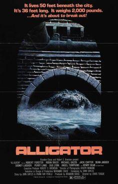 Best Aquatic Horror Movies: Alligator (1980)