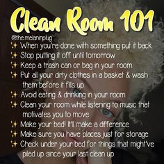 Room Cleaning Tips Apartments 41 Ideas Room Cleaning Tips, Cleaning Hacks, Bedroom Cleaning, Cleaning Checklist, Deep Cleaning, Cute Room Ideas, Cute Room Decor, Bedroom Hacks, Room Ideas Bedroom