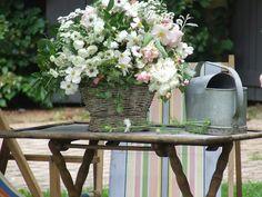 my shabby chic white bouquet - Sharon Santoni