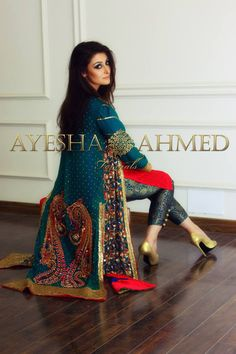 8 Ayesha Ahmed formal wear collection 2015 For Girls (11)