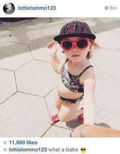 Baby Lux, Baby Baby, Lottie Tomlinson, Sunglasses, Polyvore, Cute, Instagram, Feb 14, Style